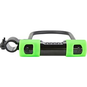 ABUS Ultra Combo 410C/170HB230 SH34 Beugelslot, zwart/groen